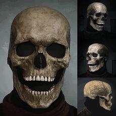 Head, halloweenparty, skull, Masks