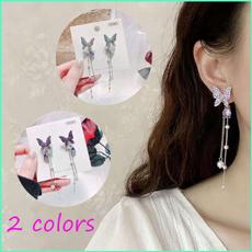 butterfly, Tassels, Fashion, Dangle Earring
