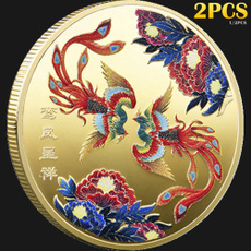 Traditional, collectiblecoin, Phoenix, Chinese