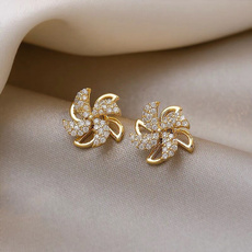 Sterling, windmillearring, anniversaryearring, Fashion