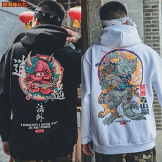 devils, Loose, Japanese, Pullovers