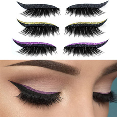 Eyelashes, eye, lazyeyemakeupsticker, stagemakeuptool
