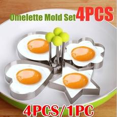 Steel, panelasparacozinha, fryingeggmold, Eggs