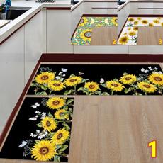 non-slip, doormat, Rugs & Carpets, Flowers