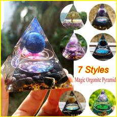 Blues, quartz, Magic, energypyramid
