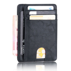 case, slim, Bags, leather