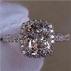 crystal ring, zirconring, rhinestonering, Diamond Ring
