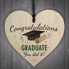Graduation Gift, 심장, 학교, partydecorationsfavor