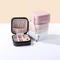 Box, case, leatherstoragecase, portablestoragebox