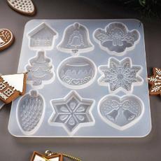 Craft, jewelrymakingtool, shellmold, Christmas