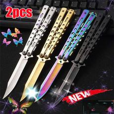 butterfly, Steel, butterflyknive, Tool