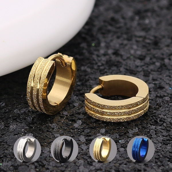 Steel, Hoop Earring, stainless steel earrings, Jewelry