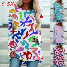 blouse, Plus Size, Winter, long sleeved shirt