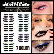 eye, eyelinereyelashessticker, Beauty, Eye Makeup