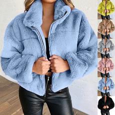 Hoodies, cardigan, fur, Winter