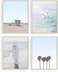 Summer, Decor, art, surfboard