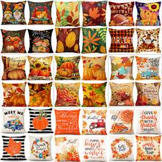 pillowcover18x18, autumnpillowcase, sofacushioncover, Pillowcases