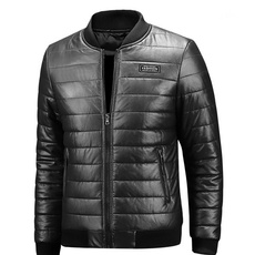 leatherjacketformen, largesizejacket, Fashion, Winter