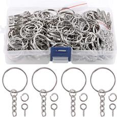 Key Chain, Jewelry, keychainring, eye