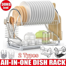 kitchenstoragerack, utensilsholder, Kitchen & Dining, dishshelf