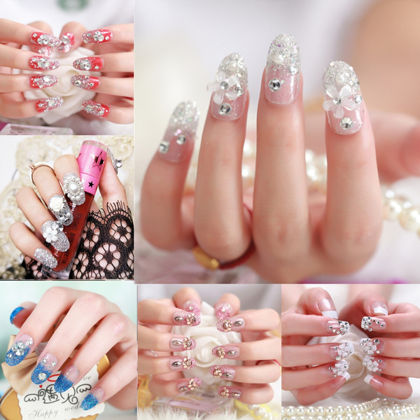nail decoration, bridenail, art, Shorts