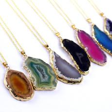 agateslice, gemstonenecklace, agatestonenecklace, agatestone