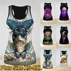 Vest, Fashion, crop top, summer t-shirts