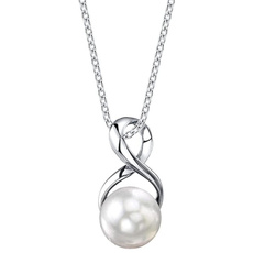 925 sterling silver necklace, Sterling, Fashion, pearl jewelry