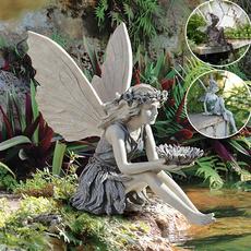 Decor, Flowers, Garden, Ornament