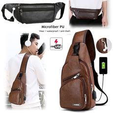 Shoulder Bags, Outdoor, usb, Casual bag