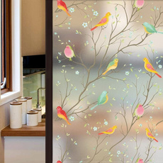 windowsticker, homedecorationsticker, Home & Living, birdwallsticker
