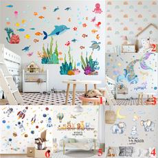 childrenwallsticker, art, Dinosaur, Wall Decal