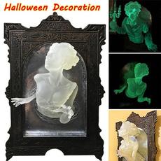 ghost, decoration, glowingghost, resinornament
