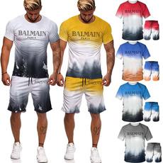 Shorts, quickdryingtshirt, Sleeve, men clothing
