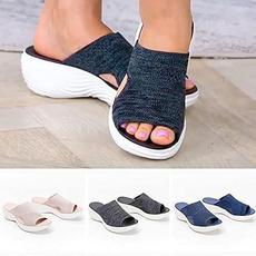 wedge, beach shoes, Sandals, Women Sandals