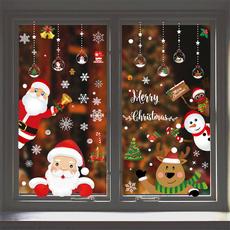 christmasdecorationsforhome, decoration, windowsticker, Christmas