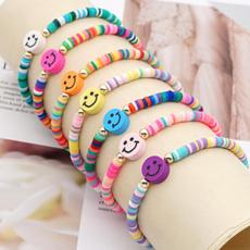Charm Bracelet, Beaded Bracelets, Fashion, softpotterybracelet