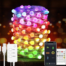 Copper, christmastreelight, colorlinelamp, usb