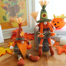 mapleleafscarecrow, leaf, gnome, doll