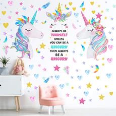 Heart, Decor, Christmas, unicornsticker