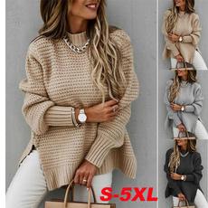 autumnwinter, warmsweaterwomen, Fashion, sweaters for women