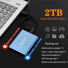 mobileharddisk, Aluminum, 2tb, Mobile