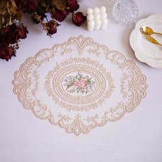 Home & Kitchen, tablemat, Lace, Tables