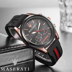quartz, maserati, business watch, watches for men