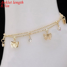 butterfly, golden, Fashion, Jewelry