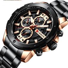 Chronograph, Fashion, Waterproof Watch, Waterproof