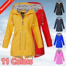 Fashion, Outdoor, raincoat, womenjacker