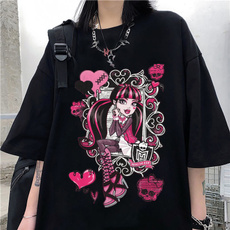 shirtsforwomen, Summer, Goth, Fashion
