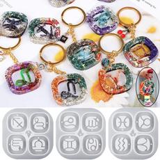 pendantmakingmold, jewelrymakingtool, constellationsepoxymould, pendantsiliconemold