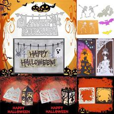 stencil, etching, Halloween, cuttingdie